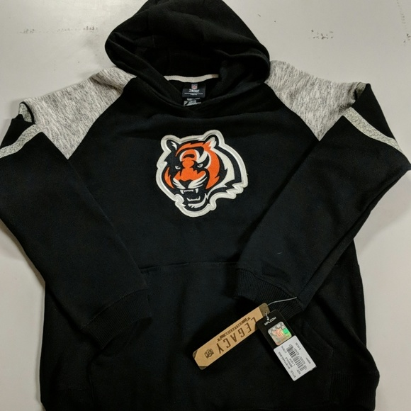 finest selection 76e7f 86fd5 Cincinnati Bengals youth size large hoodie NWT